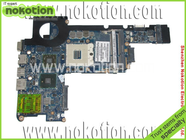 NOKOTION Laptop motherboard for HP DV3 CQ36 591413-001 mother boards graphic card DDR3 Mainboard for hp cq35 cq36 dv3 2100 2200 dv3z dv3z 1100 laptop fan