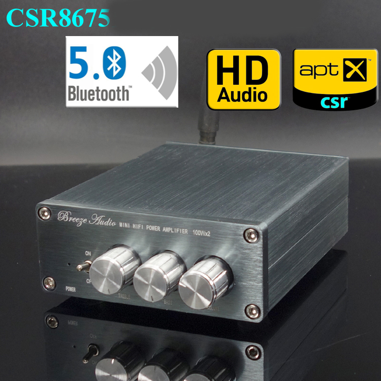 KYYSLB 50WX2 100WX2 BL50A CS8675 Home audio Mini 4 2 5 0 Bluetooth Amplifier HIFI Class 2 0 Stereo Digital Amplifier TPA3116