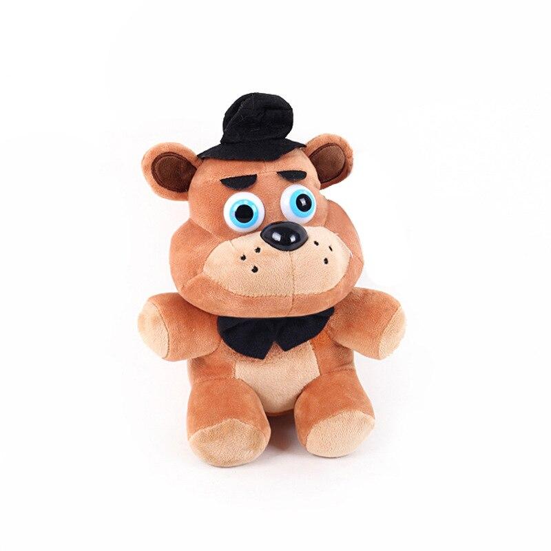 NEW Five Nights At Freddy Plush Pendant toys 15cm/25cm Keychian Soft Peluche Anime FNAF Fox Bear Bonnie Toy Doll Gift for Kids B детская плюшевая игрушка oem 1 kwaii hamtaro peluche pelucia trotting hamtaro plush toys