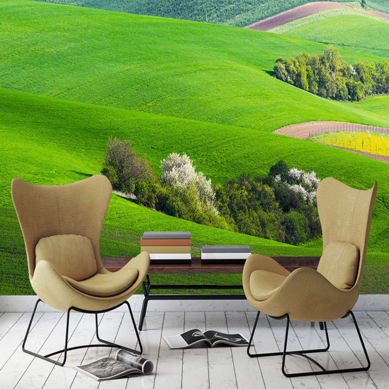 modern fashion 3d stereoscopic custom wallpaper living room bedroom large wall mural modern landscape grassland frash wallpaper custom 3d stereoscopic large mural wallpaper wall paper living room tv backdrop of chinese landscape painting style classic