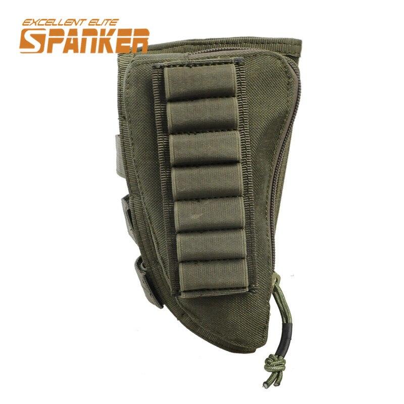 Spanker 1000D Táctico Militar Pistola Rifle Ammo Pouch Titular con Cojín De Cuer