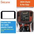 Seicane Incredible 2 Din Car Radio Fascia Для 1998 1999-2002 Lexus 4700 Trim Dash CD установочный комплект авто стерео аудио рамка