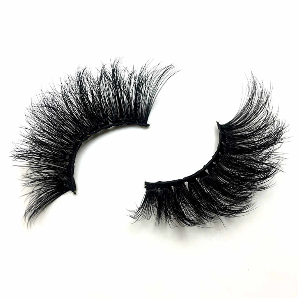 False Eyelashes Luxury 8D False Lashes Artificial Fur False Eyelashes 1Pair Full Strip Lashes Long Natural Party Women May9