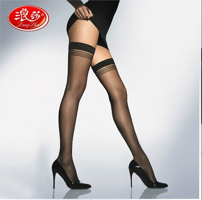Size XL Luxury Packaging  Womens Sexy Anti-slip Stockings,Transparent Silk Stocking Hose,Pantyhose Leggings Meia,sexy Lingerie