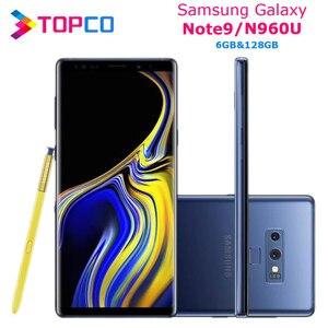 "Samsung Galaxy Note9 Note 9 N960U N960U1 Unlocked Mobile Phone Snapdragon 845 Octa Core 6.4"" Dual 12MP RAM 6GB ROM 128GB NFC(China)"