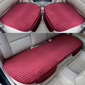 Image 3 - 車のシートカバー保温カーシートクッションアンチスキッドパッドプロテクターマット車車パッド車スタイリング