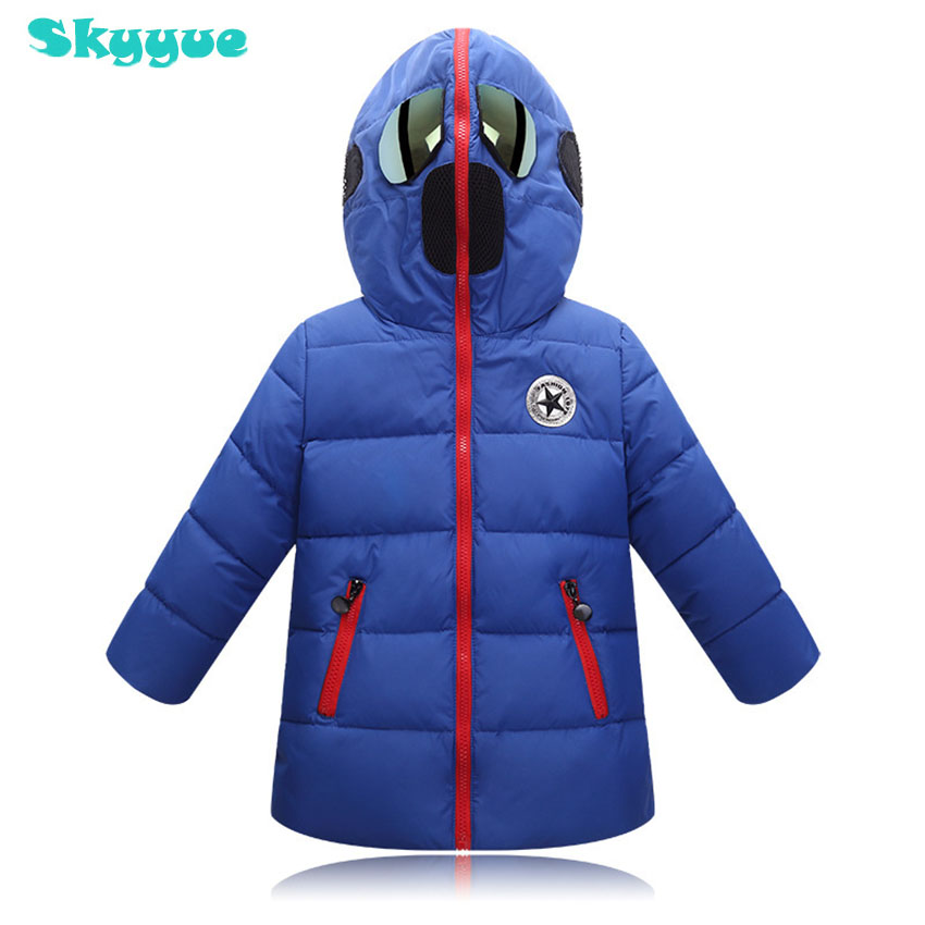 Children hood cartoon jacket 2018 boy winter jacket altman glasses hooded warm parka coat kids winter coats new 2017 men winter black jacket parka warm coat with hood mens cotton padded jackets coats jaqueta masculina plus size nswt015