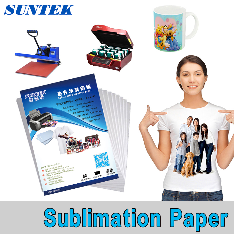 Friendly A4 Size,100pcs 3d Sublimation Heat Transfer Paper, Dye Sublimation For Phone Case / Mugs /mouse Pad/ceramics/non-cotton T-shirt A Plastic Case Is Compartmentalized For Safe Storage