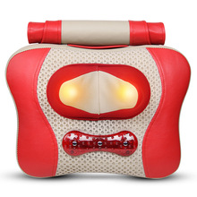 Infrared Heated Electric Massage Pillow Cervical Vertebra Massager Neck Waist Back Shoulder Massage Device Household Health Care
