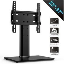 FITUEYES Universal TV Stand /Base Tabletop TV Stand with mount for 27-37 inch Sony Panasonic LG LED LCD Vizio Toshiba