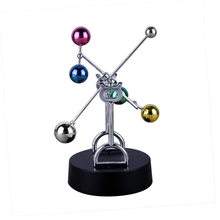 Small Ornaments Home Decoration Little Jupiter Kinetic Mobile Colorful Balls Perpetual Motion Craft Office Desk Decore Crafts