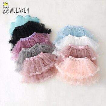 87ef6c9df Falda de tutú de niñas amarillas, tutú de Ballet para niños, faldas para  niñas, falda de fiesta ...