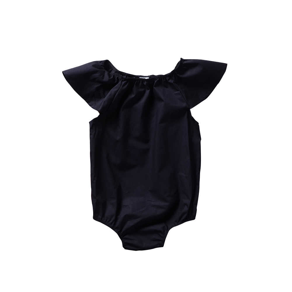 Детский комбинезон Elstic cuffet, однотонный черный комбинезон, комбинезон Zomer, пляжный костюм, одежда Bebe
