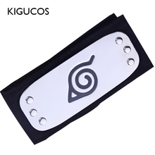 KIGUCOS Anime Naruto Headband for Itachi Kakashi Cosplay Props Akatsuki Headband Halloween Costumes Props cheap Wings Unisex Metal 94*5cm 18 Styles