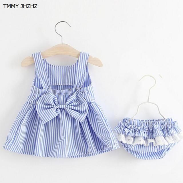 f7f7917f49 Newborn bebe kids baby dress summer 100% cotton beautiful dresses Lace tutu  dress for baby's clothing minnie