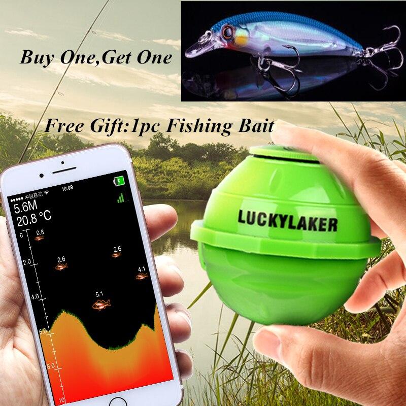 Wifi Unterwasser Fisch Finder Kamera Echo Signalgeber Sonar FishFinder Findfish Tiefer Sensor Alarm Android/IOS Angeln Finders Lockt