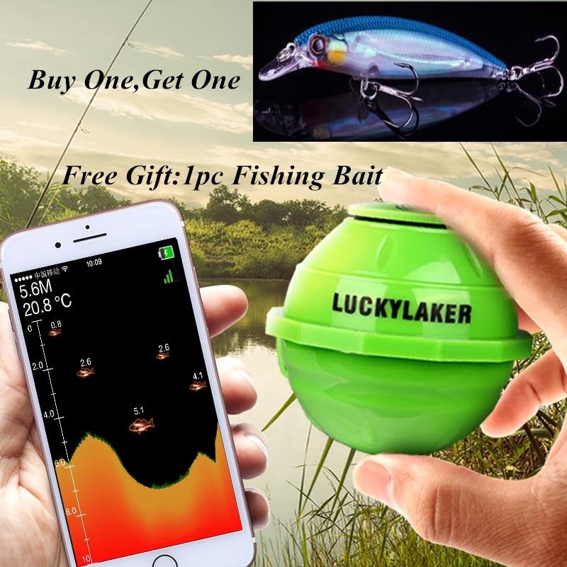 Menu de Russo! Sensor Fish Finder Portátil à