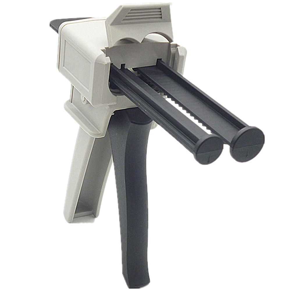 50ml Epoxy Resin Adhesive Bonding Gun Ab Extrusion Tools 1:1 and 2:1 Mixed Manual Hand Ab Glue Well-Mixed Gun Two-Component Guns two component 400ml 1 1 ab glue gun manual glued joints agent of true porcelain