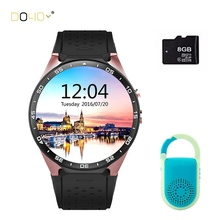 2016 Hot 3G kingwear KW88 Smart Watch android 5 1 OS Smart watch 1 39 inch