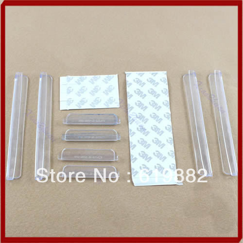 8pcs Car Door Protection Strip Clear Edge Guards Trim Molding Scratch Protector New Arrive-in Styling Mouldings from Automobiles u0026 Motorcycles on ...  sc 1 st  AliExpress.com & 8pcs Car Door Protection Strip Clear Edge Guards Trim Molding ...