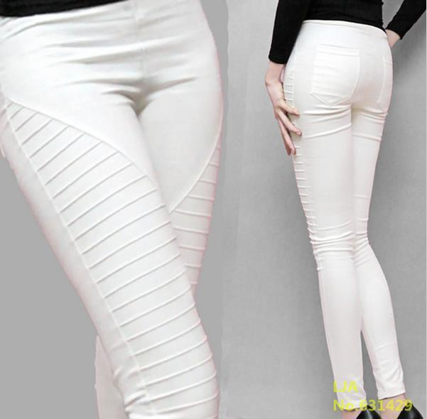Popular Skinny White Pants-Buy Cheap Skinny White Pants lots from ...