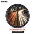 ZOMEI Тонкий Fader Переменной Нейтральной Плотности ND Фильтр Регулируемый ND2-400 Для Nikon D5100 D5200 D3300 D3200 D3100 Canon 1200D 100D