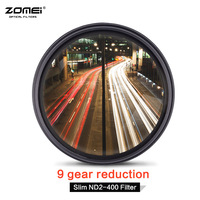 ZOMEI Slim Fader Variable Neutral Density ND Filter Adjustable ND2 400 For Nikon D5100 D5200 D3300