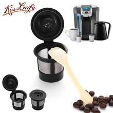 3PC Reusable Capsule 304 Stainless Steel Refillable Coffee Powder Filter Cup Coffee Filter Fit Maker Cafe Capsule Dripper