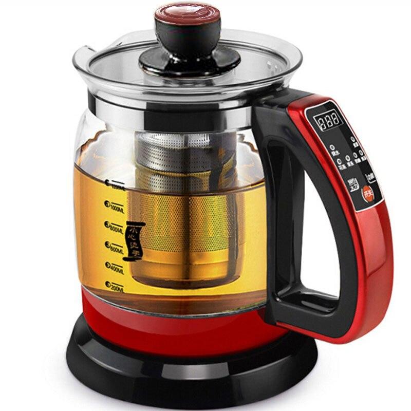 Waterkoker Gezondheid behoud pot 1.2L 700W Multifunctionele theepot thee pot gekookt split gezondheid glas pot water fles 220V-in Elektrische waterkokers van Huishoudelijk Apparatuur op  Groep 1