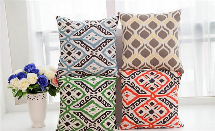 Euro preppy Lattice design decorative pillows size 45x45cm sofa