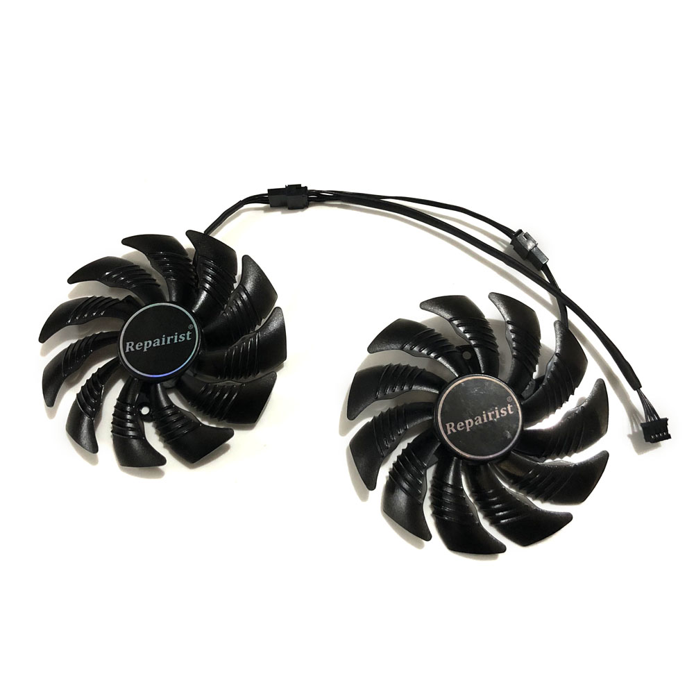 цена на RX 470/480/570/580 PLD09210S12HH 87MM(90mm) Cards Fan Gigabyte RX480 RX580 RX570 GAMING Graphics Card Cooling Fan as Replacement
