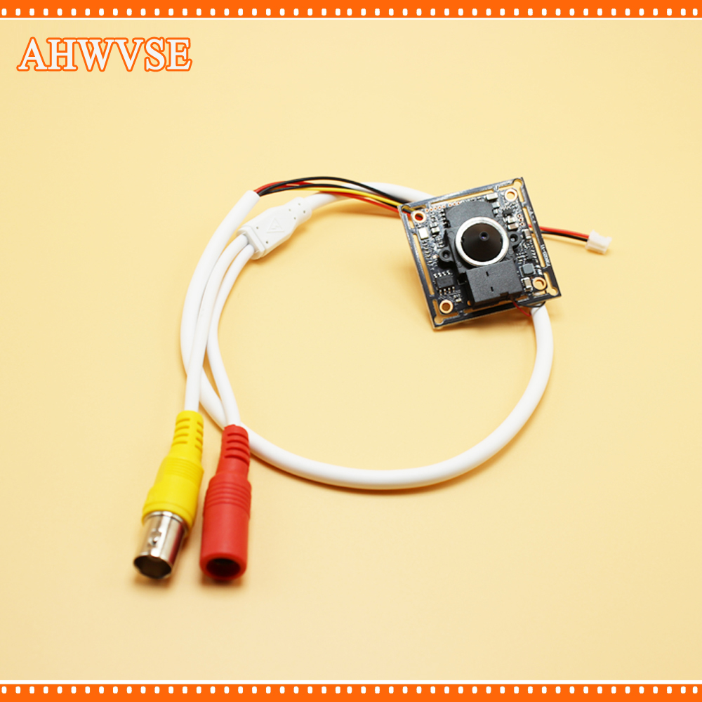 AHWVSE Home Security Camera 1080P AHD Camera module with Wide Angle 3.7 mm lens
