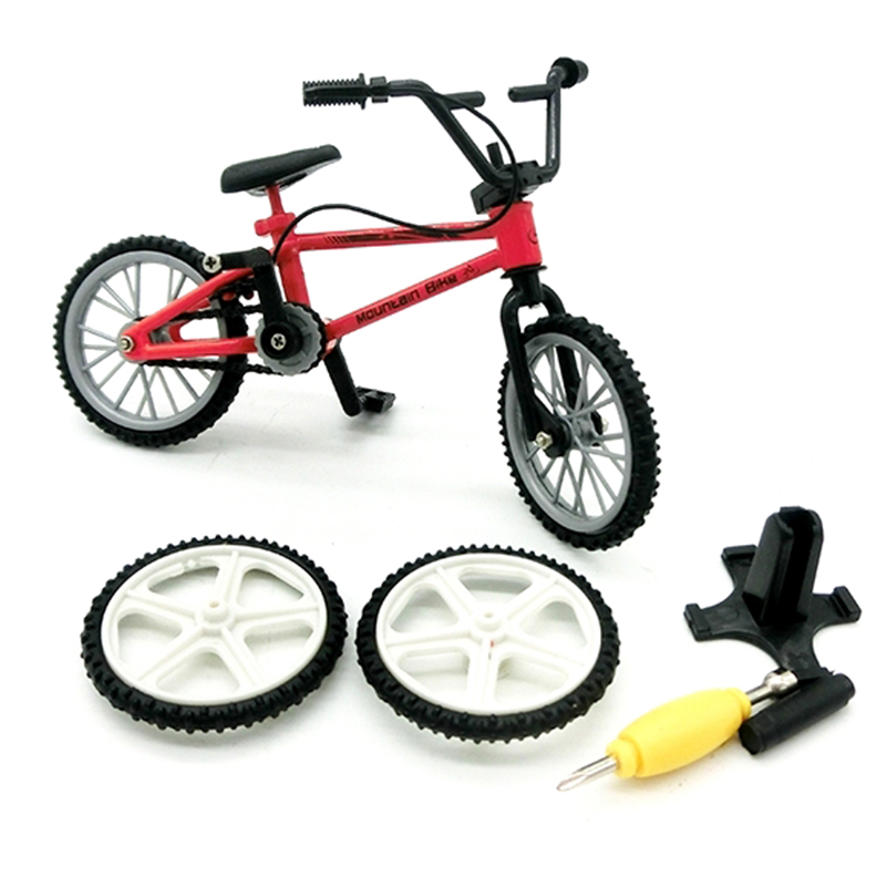 Mini Finger BMX Bicycle Tech-Deck Flick Trix Bicycle Finger Bikes Toys BMX Model Bike Toys For Children Gifts