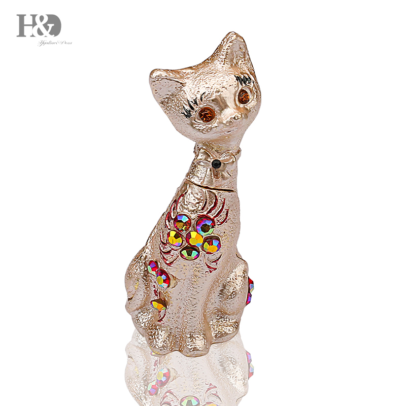 "Figurine Miniature 4.25/""H New American Shorthair Tabby Cat Spotted Gray"