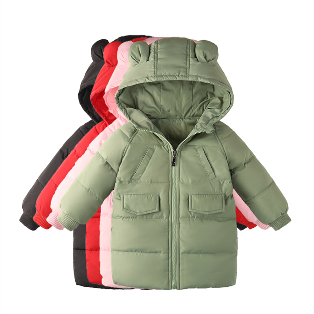 Kids Toddler Boys Jacket down Coat for Children hooded Outerwear Clothing Baby Girls Clothes Autumn russian Winter Parkas 2-8T 2018 autumn winter boys clothing girls clothing vestidos beau loves new christmas kids clothes children jacket coat down