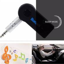 цена на For Car Music 3.5mm Aux Audio Bluetooth Receiver Adapter For Headphone Reciever Handsfree Wireless Stereo Blutooth Music Adapter
