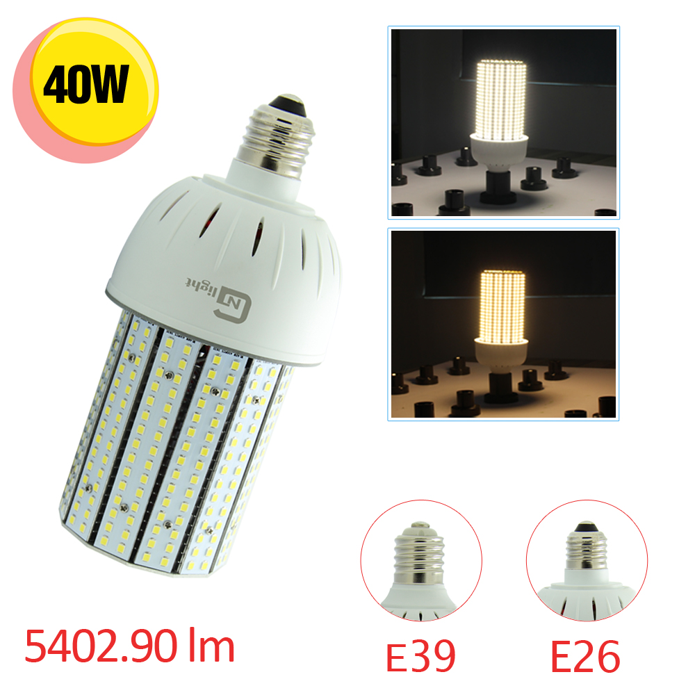 40 Watt Led Us 860 40watt Led Corn Light Bulb Wall Pack Retrofit Outdoor Street Lighting 150w Metal Halide Son Replacement 18pcs Lot In Led Bulbs Tubes From