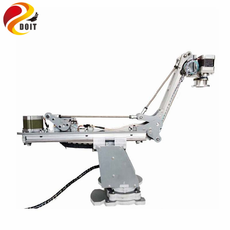 Official DOIT Numerical Control Mechanical Arm/Harmonic Reducer/Stepper Motor/Four Shaft Palletizing Robot Manipulator
