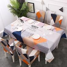 Водонепроницаемые прямоугольные скатерти в скандинавском стиле, скатерть из полиэстера для дома, кухни, фламинго, вечерние, для банкета, столовой, декоративные