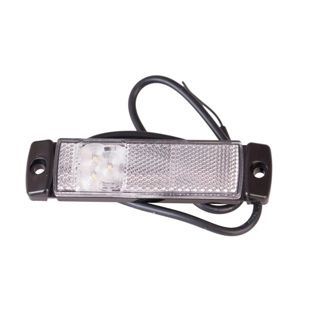 2PCS 12V / 24V Auto Styling Camion Remorcă Ofr LED Bar de lumină - Faruri auto - Fotografie 4
