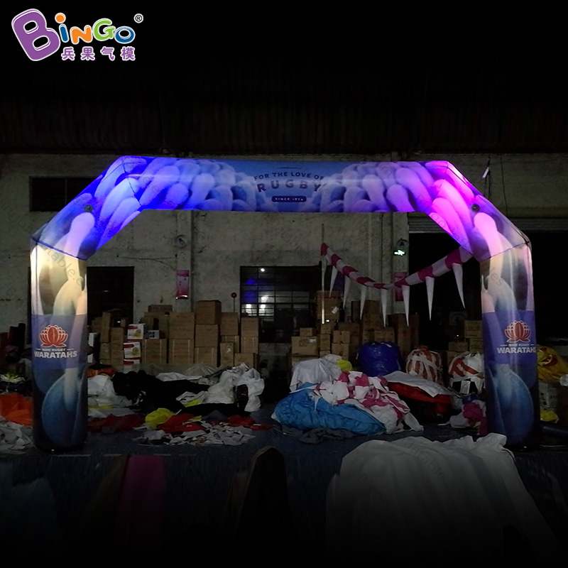 FACTORY OUTLET 6.2X3.6M inflatable lighting LED arch blowup pattern arches customized for advertising entrance for sales balloonFACTORY OUTLET 6.2X3.6M inflatable lighting LED arch blowup pattern arches customized for advertising entrance for sales balloon