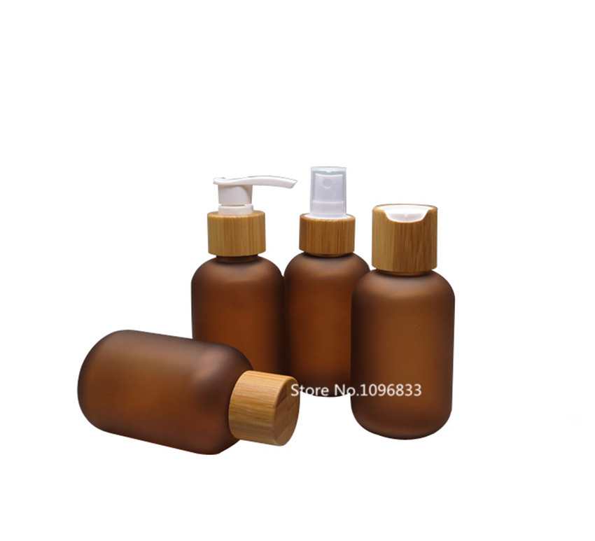 120ML 10PCS Refillable Pump Bottles Amber Brown Plastic Squeeze Spray Bottles Containers For Shampoo Lotion Liquid Soap Cream утюг energy en 326 orange