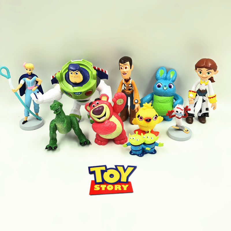 Model Toy-Story Ornament Collection-Toys Action-Figure Birthday-Gifts Anime Bear-Woody