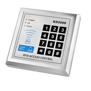 Image 5 - 125KHz/13.56MHz RFID 독립 실행 형 액세스 제어 보드 10 Mifare keyfobs EM 카드 판독기 도어 잠금 항목 보안 시스템