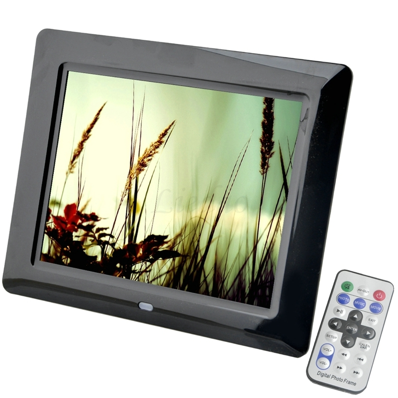 8 inch TFT Screen LED Backlight HD 800*600 Screen Digital Photo Frame Electronic Album Picture Music MP3 MP4 Porta Retrato Digit 10 4 inch tft screen for b1048n01 800 600