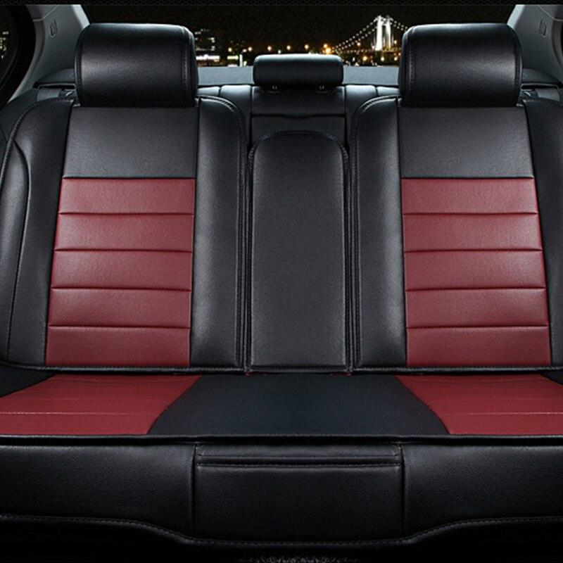 Для Lexus ES GS GX LS ct LX RX RC F NX красный, бежевый цвета дизайнерские Роскошные искусственная кожа спереди и сзади полный автокресло включает четыре ...