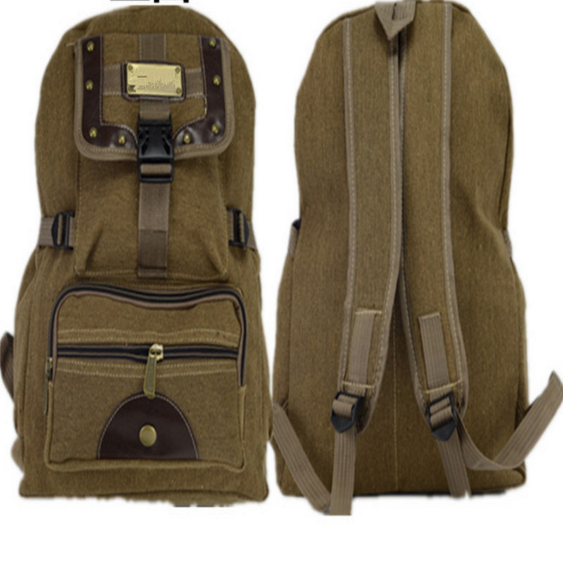 New male female Canvas Backpacks Large School Bags For Teenagers Boys Girls Travel Laptop Backbags Mochila Rucksack vintage bags