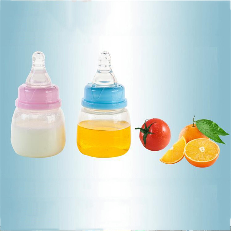 Good Quality Hot Sale 60ml PP Material Cheap Baby Feeding Bottle Infant Milk Bottle Newborn Nursing Bottle Baby's Bottle Feeder