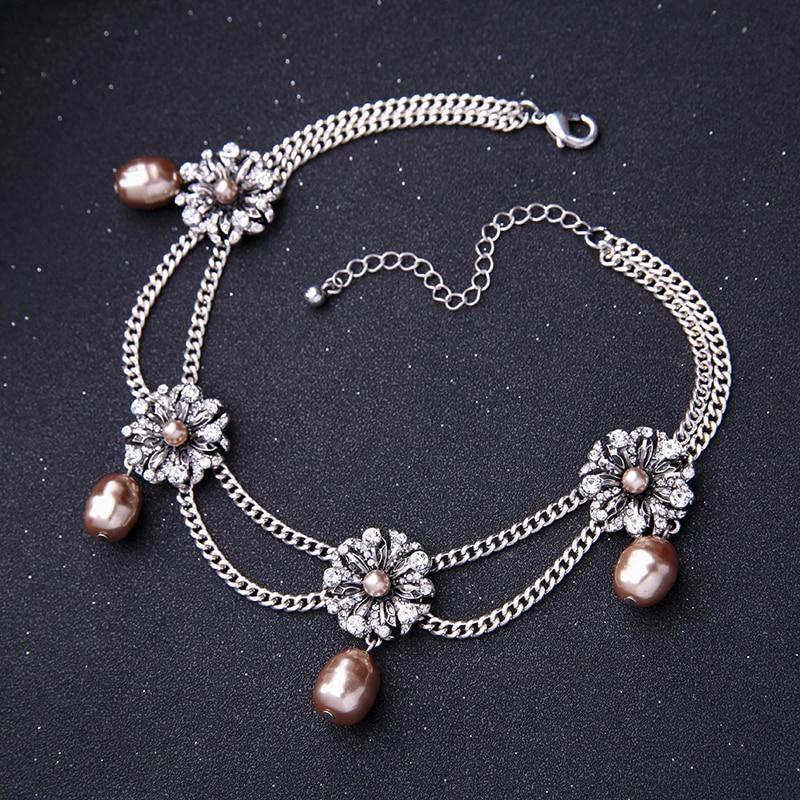 KISS ME Νέες Διπλές Αλυσίδες Crystal - Κοσμήματα μόδας - Φωτογραφία 6