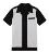 Botão Para Cima dos homens Camisas Tecidas Colar retro Vintage Rock and Roll Hip Hop 60's Rockabilly Roupas de Palco Chemise Homme camisa